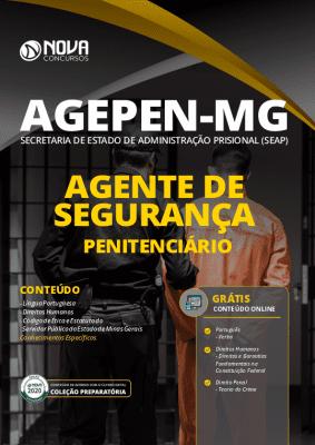 Apostila Concurso AGEPEN MG 2020 Agente de Segurança Penitenciário Grátis Cursos Online
