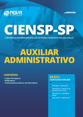 Apostila Concurso CIENSP 2020 Auxiliar Administrativo Grátis Cursos Online