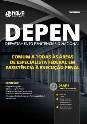 Apostila Concurso DEPEN 2020 Especialista Federal em Assistência à Execução Penal