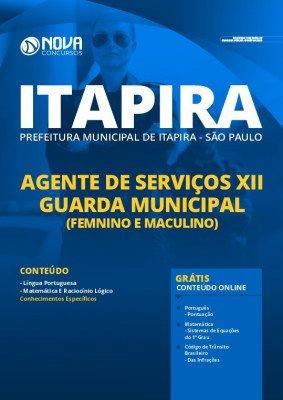 Apostila Concurso Prefeitura de Itapira SP 2020 Guarda Municipal Grátis Cursos Online