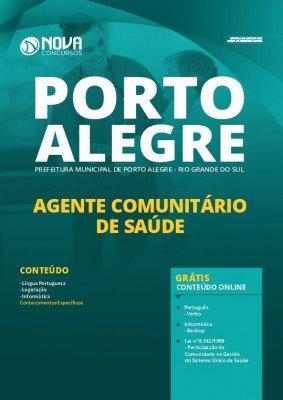 Apostila Concurso Prefeitura de Porto Alegre 2020 Agente Comunitário de Saúde Grátis Cursos Online.