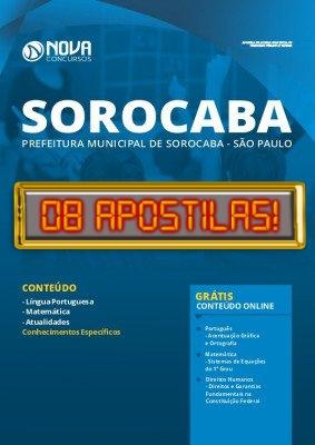 Apostila Concurso Prefeitura de Sorocaba 2020 Grátis Cursos Online