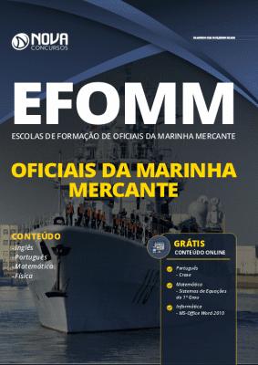 Apostila Concurso EFOMM 2020 Impressa e PDF Grátis Cursos Online