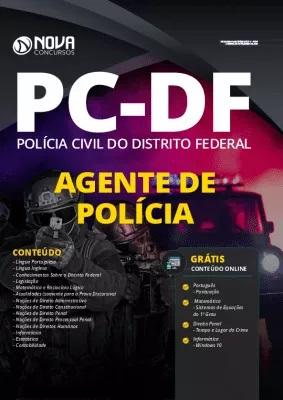 Apostila Concurso PC DF 2020 Agente de Polícia Impressa e PDF Grátis Cursos Online