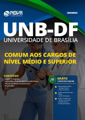 Apostila Concurso UNB 2020 Impressa e PDF Grátis Cursos Online