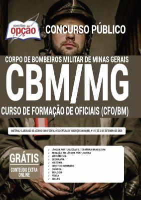 Apostila Concurso CBM MG 2020 PDF e Impressa Bombeiro Militar