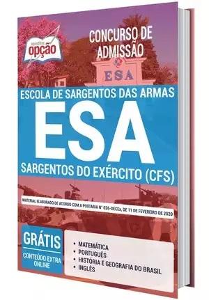 Apostila Concurso ESA 2021 PDF Download e Impressa