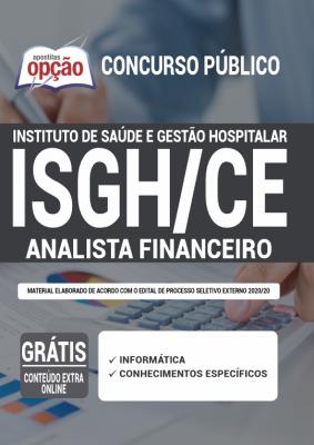 Apostila Concurso ISGH CE 2020 PDF e Impressa Analista Financeiro