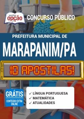 Apostila Concurso Prefeitura de Marapanim PA 2020 PDF Impressa