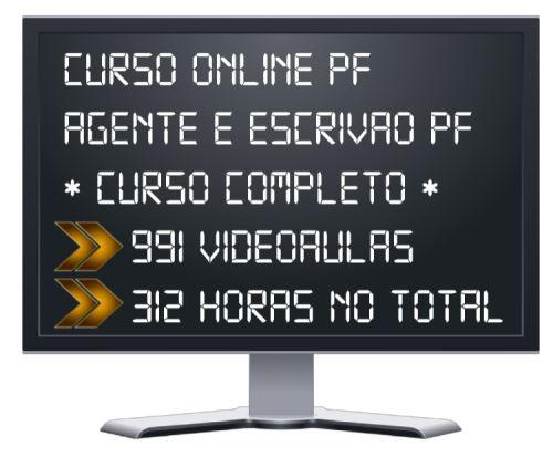 Curso Online Polícia Federal 2020 Agente e Escrivão PF 2020