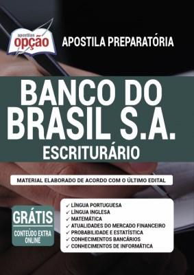 Apostila Concurso Banco do Brasil 2021 PDF Download Impressa