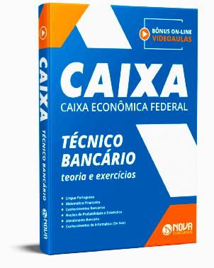 Apostila Concurso Caixa Econômica Federal 2021 PDF Download e Impressa