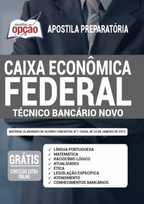 Apostila Concurso Caixa Econômica Federal 2021 PDF e Impressa