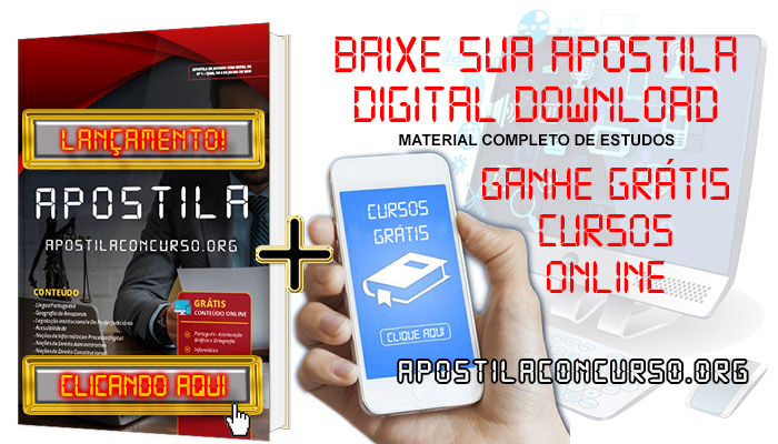 Apostila Concurso CODER MT 2020 PDF e Impressa Mato Grosso