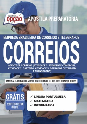 Apostila Concurso Correios 2021 PDF Download e Impressa