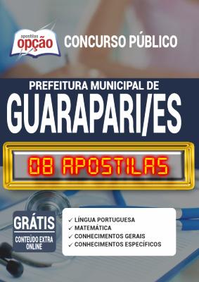 Apostila Concurso Prefeitura de Guarapari ES 2020 PDF Impressa