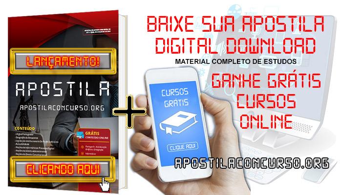 Apostila Concurso Prefeitura de Uberaba MG 2020 PDF e Impressa