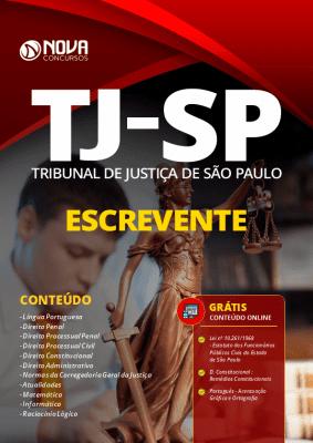 Apostila Concurso TJ SP 2021 PDF e Impressa Escrevente Técnico Judiciário Editora Nova Concursos