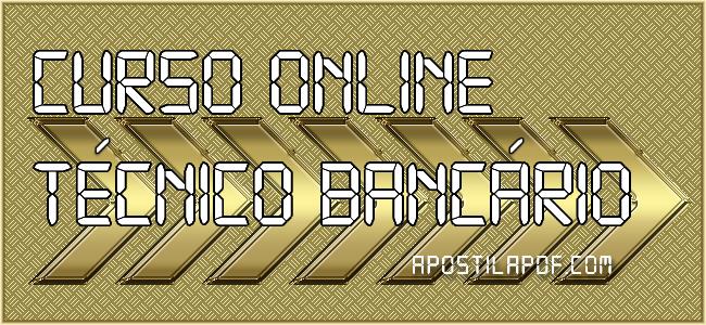 Curso Online Caixa Econômica Federal Técnico Bancário 2021