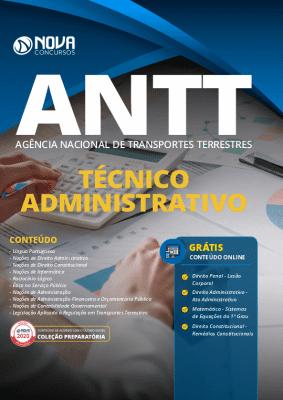 Apostila Concurso ANTT 2020 Grátis Cursos Online Técnico Administrativo