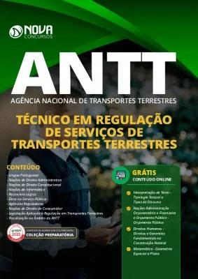 Apostila Concurso ANTT 2020 Grátis Cursos Online Técnico em Regulação de Serviços de Transportes Terrestres