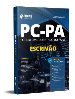 Apostila PC PA 2020 Escrivão Grátis Cursos Online
