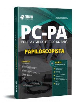 Apostila Concurso PC PA 2020 Papiloscopista Grátis Cursos Online