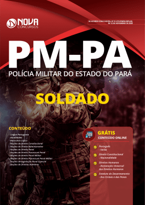 Apostila Concurso PM PA 2020 Soldado Grátis Cursos Online