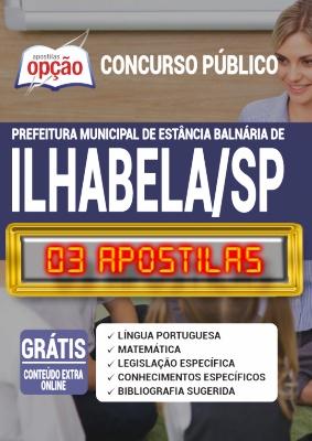 Apostila Concurso Prefeitura de Ilhabela SP 2020 PDF Impressa Professor