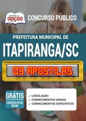 Apostila Concurso Prefeitura de Itapiranga SC 2020 PDF e Impressa