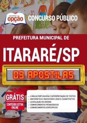 Apostila Concurso Prefeitura de Itararé SP 2020 PDF Impressa
