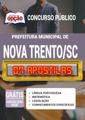 Apostila Concurso Prefeitura de Nova Trento SC 2020 PDF e Impressa