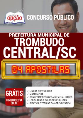 Apostila Concurso Prefeitura de Trombudo Central SC 2020 PDF e Impressa