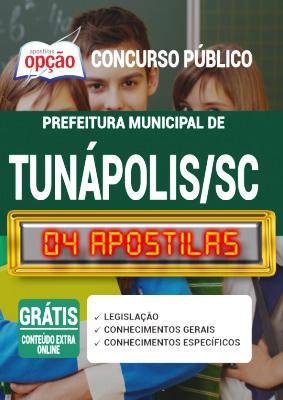 Apostila Concurso Prefeitura de Tunápolis SC 2020 PDF e Impressa