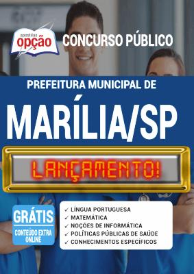 Apostila Marília SP 2020 PDF Impressa Concursos Públicos