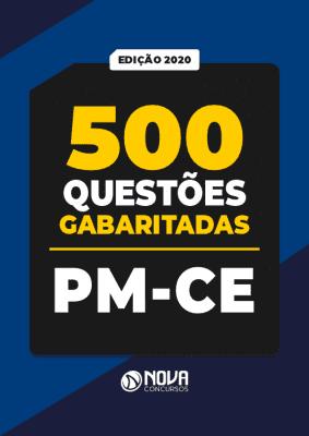 Apostila 500 Questões do Concurso PM CE 2020 PDF e Impressa Gabaritadas