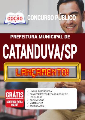Apostila Prefeitura de Catanduva SP 2020 PDF e Impressa