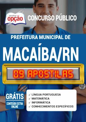 Apostila Prefeitura de Macaíba RN 2020 PDF e Impressa