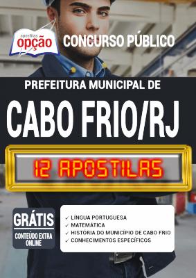 Apostila Concurso Prefeitura de Cabo Frio RJ 2020 PDF e Impressa