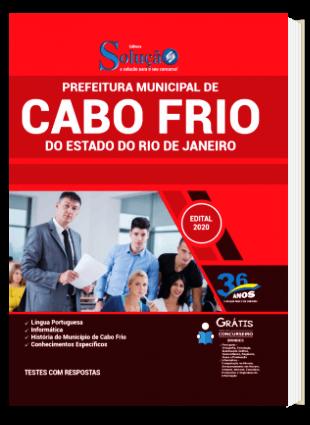 Apostila Concurso Prefeitura de Cabo Frio RJ 2020 PDF Download e Impressa