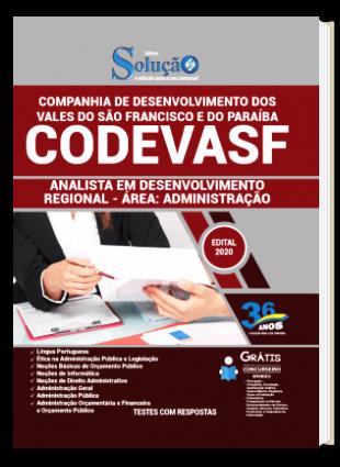 Apostila Concurso CODEVASF 2020 PDF Download e Impressa Analista Área Administração