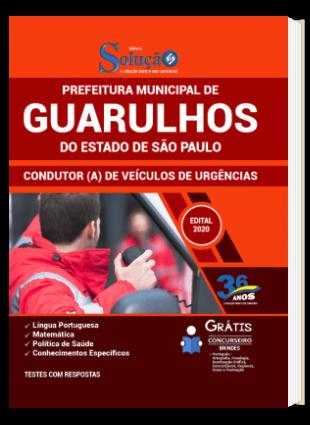 Apostila Concurso Guarulhos SP 2021 Condutor de Veículos de Urgências PDF Download e Impressa