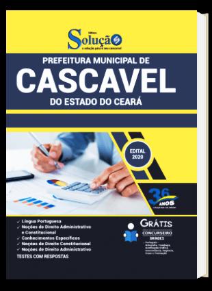 Apostila Prefeitura de Cascavel CE 2021 PDF e Impressa
