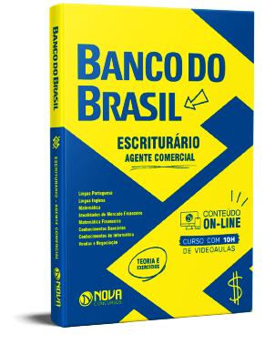Apostila Banco do Brasil 2021 Grátis Escriturário Agente Comercial