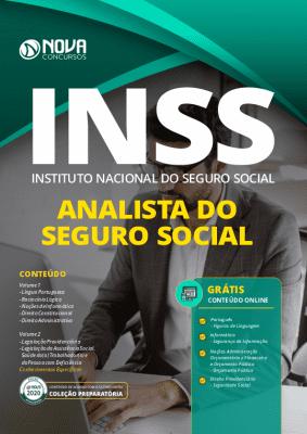 Apostila Concurso INSS 2021 Analista do INSS Grátis Cursos Online
