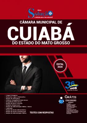 Apostila Concurso Câmara de Cuiabá 2021 PDF e Impressa Editora Solução