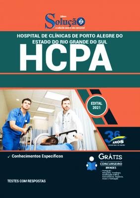 Apostila Concurso Hospital de Clínicas 2021 PDF e Impressa Editora Solução