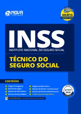 Apostila Concurso INSS 2021 Técnico do INSS PDF e Impressa