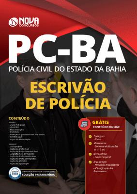 Apostila Concurso PC BA 2021 Grátis Cursos Online Escrivão de Polícia