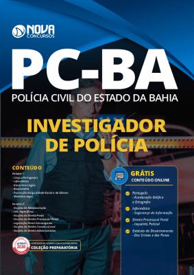Apostila Concurso PC BA 2021 Grátis Cursos Online Investigador de Polícia